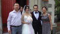 Karataş Kilisesi'nde düğün mutluluğu