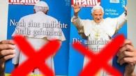 Papa'ya saygısızlık yapan dergi toplatıldı
