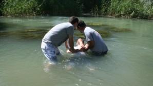 Kayseri'de 6 vaftiz sevinci