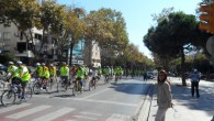 Bisiklet sevdalıları Göztepe'de buluştu