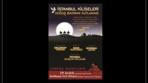 İstanbul Kiliseleri Doğuş Bayramı Kutlaması bu akşam!