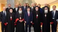 Süryani önderler Davutoğlu ile görüştü