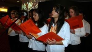 Antalya'da açıkhavada Noel konseri