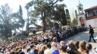 Büyükada Aya Yorgi Kilisesi'ne binlerce kişi akın etti