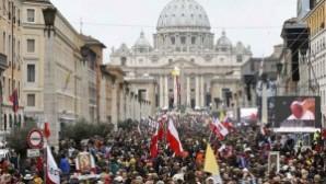 Katolik dünyasının büyük günü