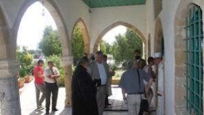 Güney Kıbrıs'taki Tahtakale Camii 51 yıl sonra ibadete açıldı