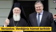 Atina'da Bakan Venizelos-Ekümenik Patrik Bartholomeos buluşması