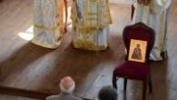 Gölyazı Aziz Pandelemeion Kilisesi'nde Ortodoks ayini