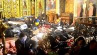Gazze'deki Aziz Porfiryus Kilisesi 400 Filistinli sığınmacıya kapılarını açtı