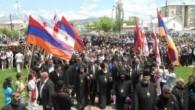 Gürcistan'da tüm dünya Hristiyanlarının özlediği tablo
