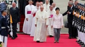 Papa Güney Kore'de