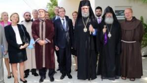 BM Özel Danışmanı Eide Kıbrıslı dini liderlerle buluştu