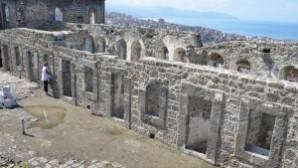 Trabzon'daki Kızlar Manastırı restore ediliyor