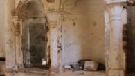 Şirince'deki tarihi kilisenin utandıran hali