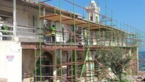 Apostolos Andreas Manastırı'ndaki restorasyon tüm hızıyla sürüyor