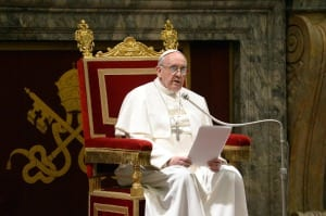VATICAN: POPE FRANCESCO MEETS CARDINALS