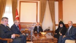 Türkiye Ermenileri Patrik Genel Vekili Başepiskopos Ateşyan'ın Malatya ziyareti