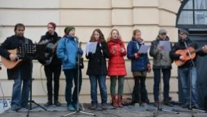 Avusturya'da Hristiyanlar ve Müslümanlar ırkçılığa karşı ortak eylem yaptı
