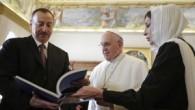 Papa, Azerbaycan Cumhurbaşkanı Aliyev ile görüştü