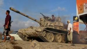 Suudi Arabistan Yemen'e girdi
