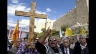 Hristiyan Filistinliler İsrail askeri olmamak için direniyor