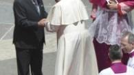 """Papa'dan Filistin Devlet Başkanı Abbas'a: """"Sen bir barış meleğisin"""""""