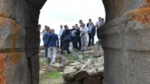 Karaman'daki tarihi episkoposluk merkezi gün yüzüne çıkıyor