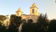 Aya Triada Kilisesi'ne kundaklama
