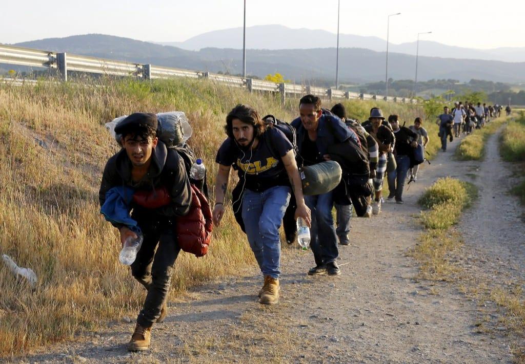 makedonya sınırı