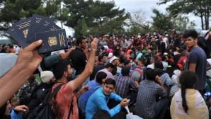 Makedonya sınırındaki göçmen krizi büyüyor