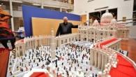 Lego'dan Vatikan'ın maketini yaptı