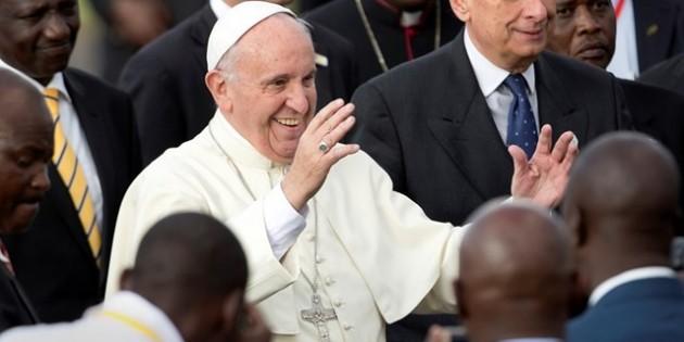 Papa Kenya'da Barış Çağrısı Yaptı