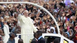 Papa Françesko Afrika'da Derin Bir İz Bıraktı
