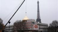 Paris'e 8 Tonluk 'Altın' Kubbe