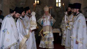 Patrik I.Bartholomeos Kapadokya'da Pazar Ayini Yönetti