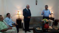 TBMM İdare Amiri Orhan Karasayar'dan Kilise Ziyareti
