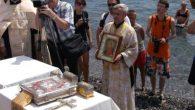 Yalta sahilinde toplu vaftiz töreni gerçekleşti