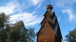 Rusya'daki En Yüksek Ahşap Kilise Restore Edilecek