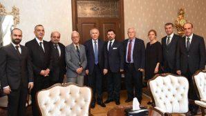 Hatay Valisi Erdal Ata, Kanaat Önderlerini Makamında Kabul Etti