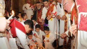 Mardin Kırklar Kilisesi'nde Doğuş Bayramı Kutlaması