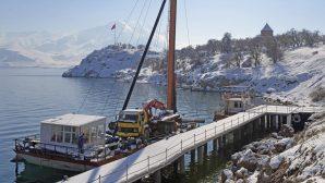 Ahtamar Adası'nın İskelesi Yenilendi