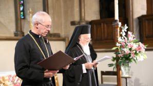 Ekümenik Patrikhane İngiliz Anglikan Kilisesi'ni Ağırladı