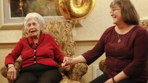 108 Yaşında Ev Sahibi Oldu