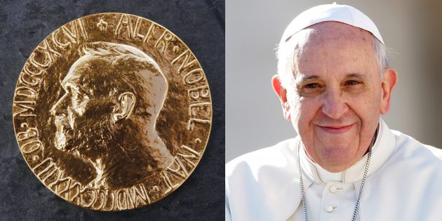 Papa Françesko, Bir Kez Daha Nobel Barış Ödülü'ne Aday