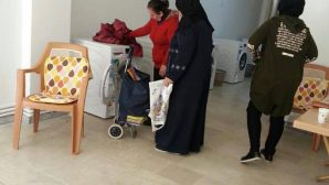 Free Laundry Service by the Anatolian Christian Communities Association