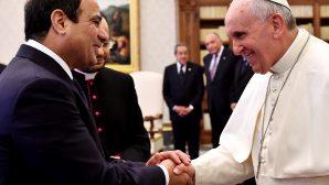 Papa'nın Mısır Ziyareti Başladı