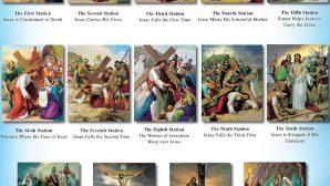 Kutsal Cuma'da İsa'nın Çarmıh Yolu anımsandı