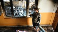 Nepal'de Katedral Yangını
