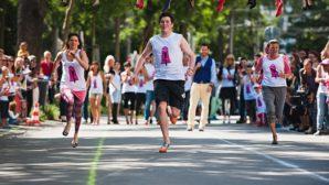 Stiletto koşusu: Yüksek Topuklularla İnsan Ticaretine karşı koşu!