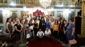 Episkopos Konstantin Kayyel'den Ziyaret